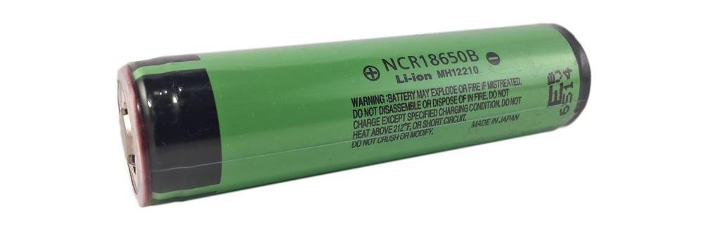 Panasonic NCR18650B 3400mAh lítium-ion akkumulátor