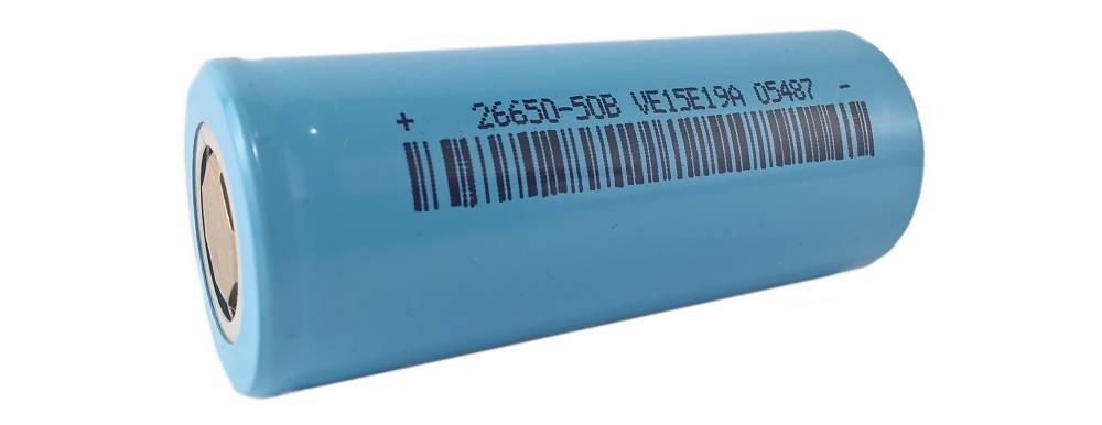 LiitoKala INR 26650 5000mAh lítium-ion akkumulátor
