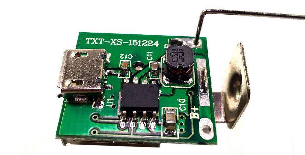 Portable DIY Mobile Power Case powerbank alaplap