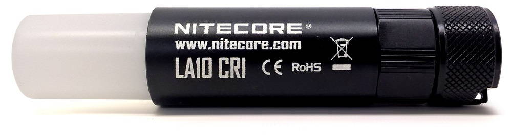 Nitecore LA10 CRI oldalról nyitva