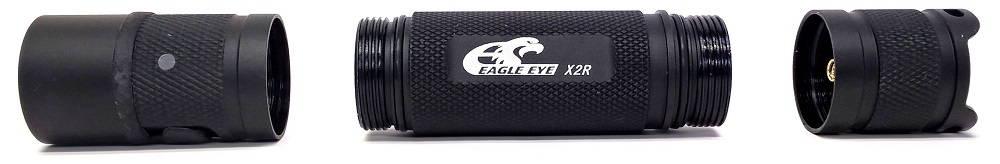 Eagle Eye X2R szétszedve