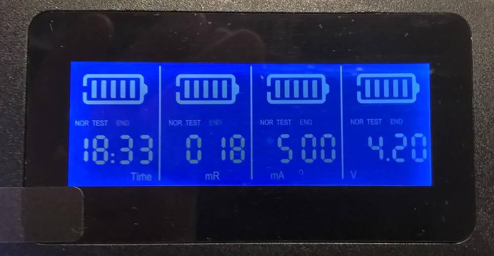 Zanflare C4 kapacitás teszt