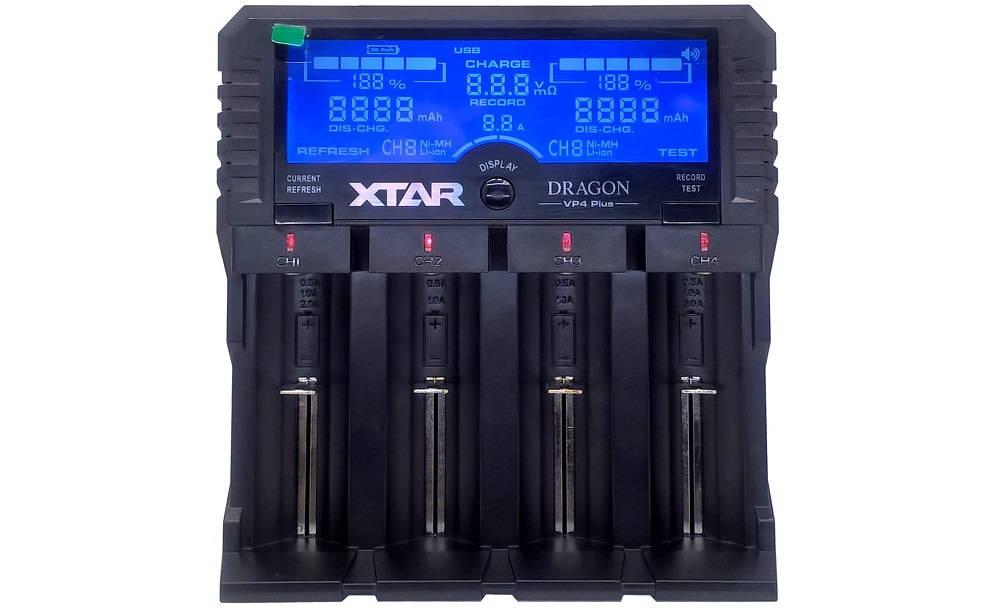 XTAR VP4 PLUS DRAGON kijelző kontroll