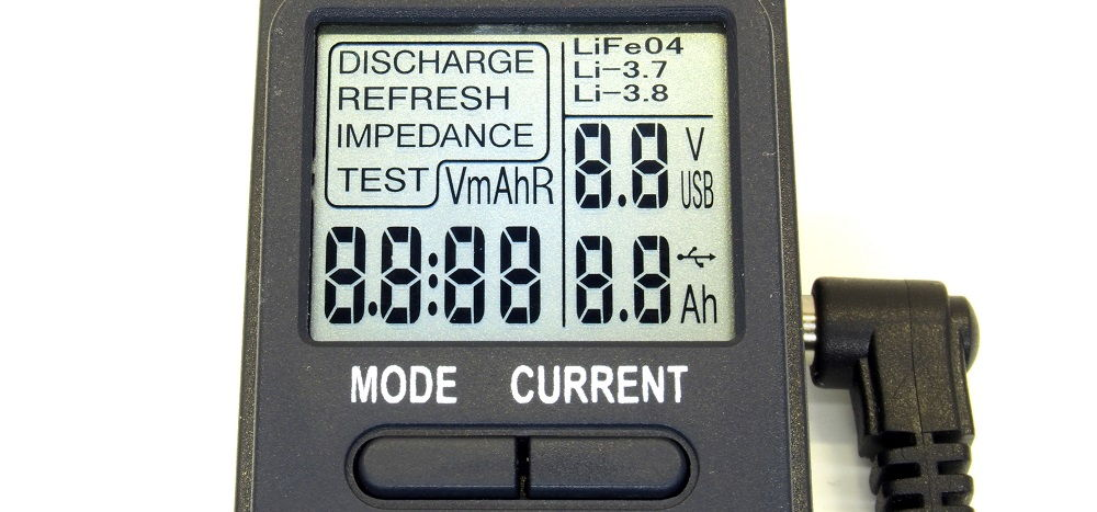 OPUS BT-C100 kijelző kontrollkép