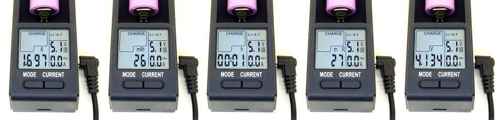 OPUS BT-C100 töltés funkciók