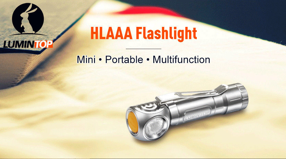 Lumintop HL AAA product banner
