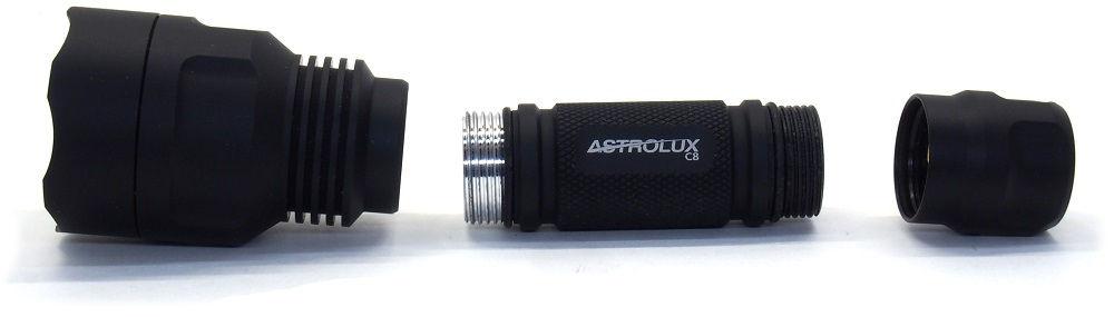 Astrolux C8 szétbontva