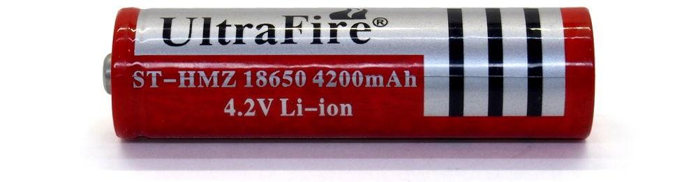 UltraFire ST-HMZ 18650 lítium-ion akku