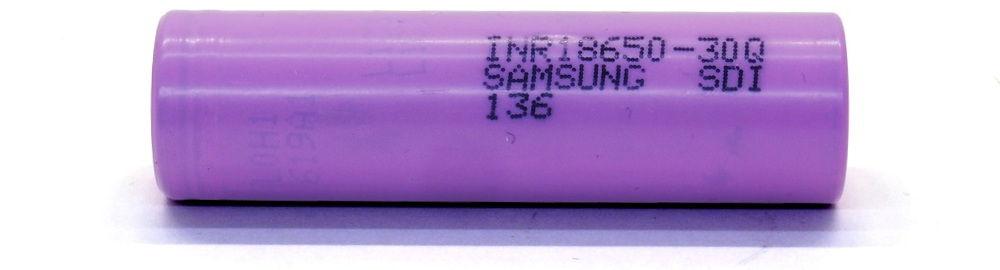 Samsung 30Q flat top lítium-ion akku