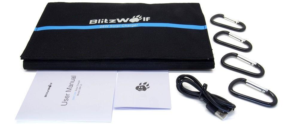 BlitzWolf BW-L3 tartozékok