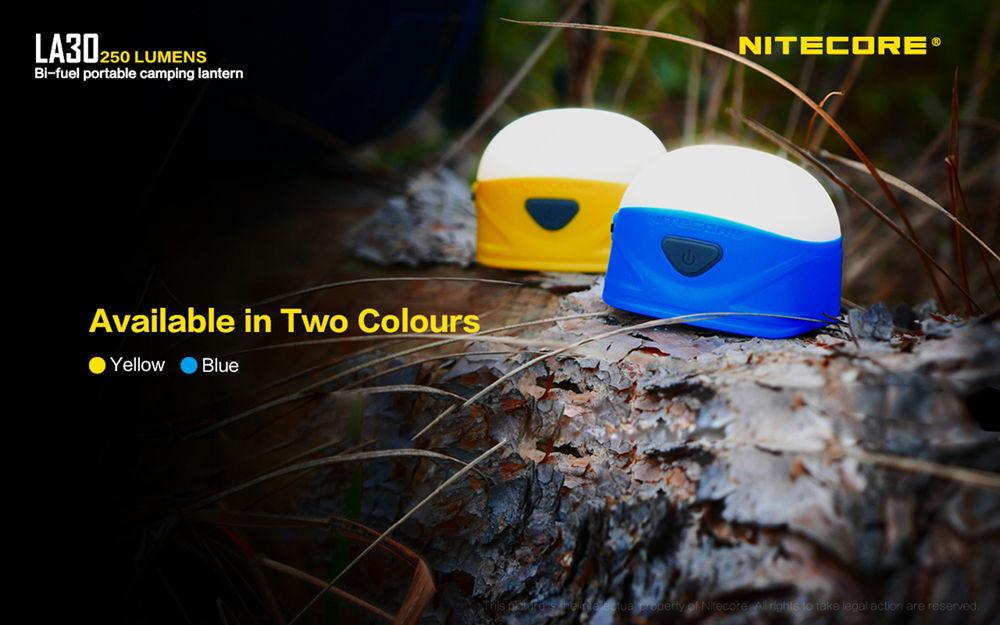 Nitecore LA30 színek