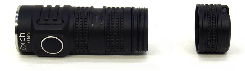 UTorch S1 mini szétbontva