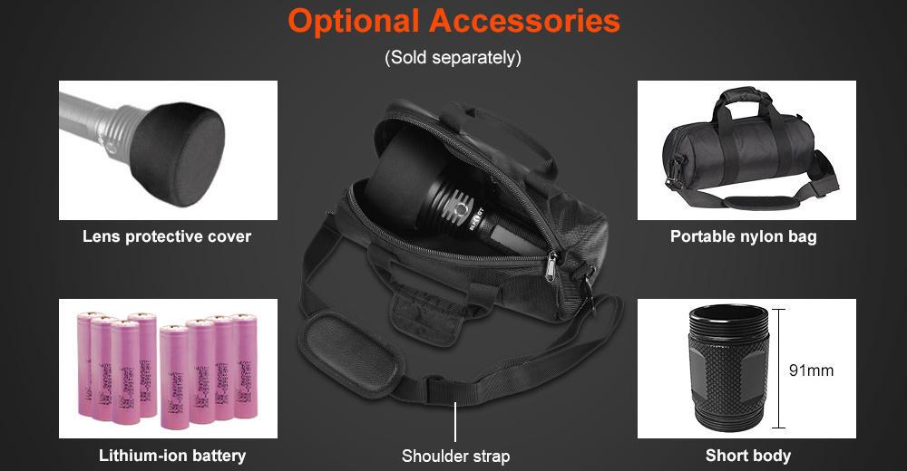 Lumintop BLF GT accessories banner