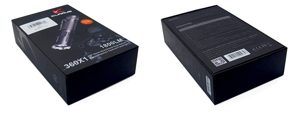 Klarus 360X1 doboza