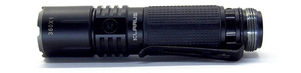 Klarus 360X1 test