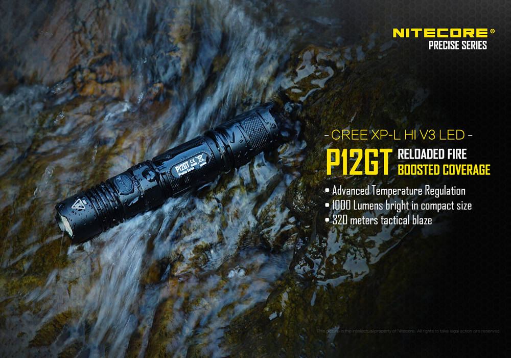 Nitecore P12GT banner