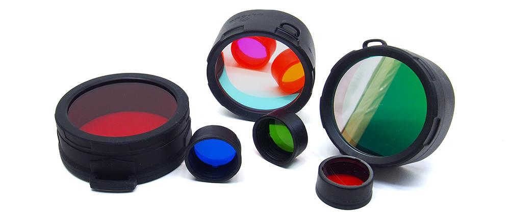 Elemlámpa kiegészítők színszűrők