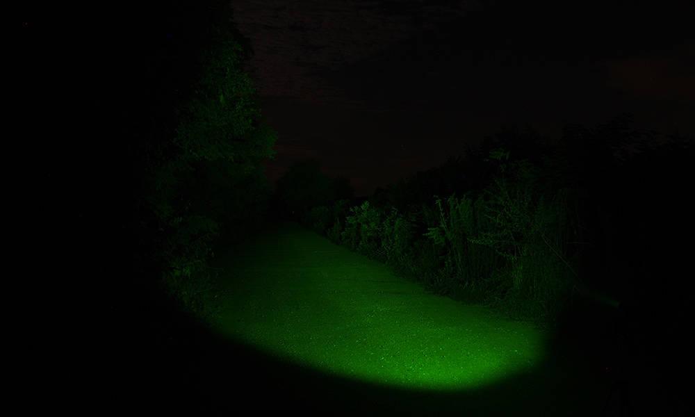 Elemlámpa kiegészítők zöld szűrő