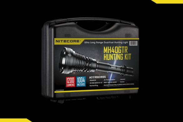 Nitecore MH40GTR hunting kit cover