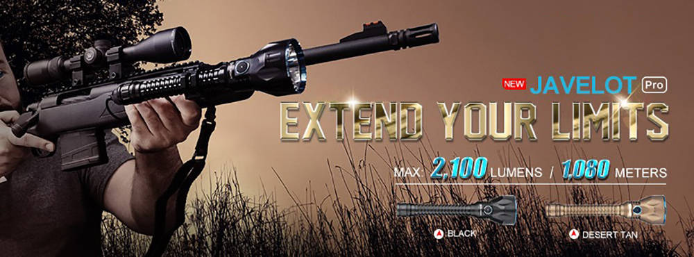 Olight Javelot Pro extend banner