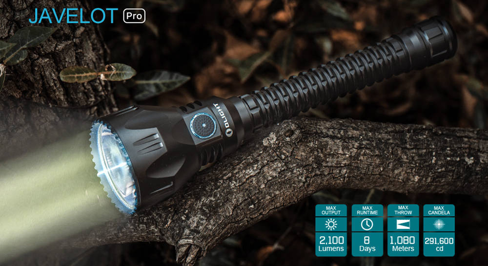 Olight Javelot Pro specifications banner