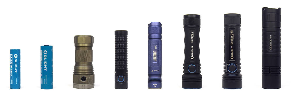 Olight Seeker 2 mérete