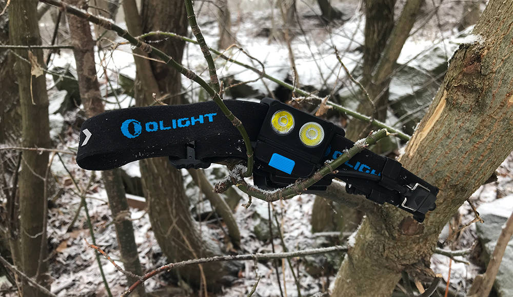 Olight H17R Wave faágon