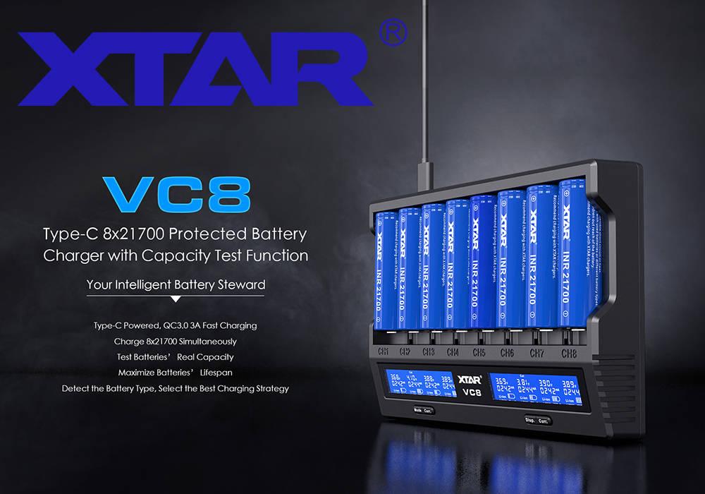 XTAR VC8 borító