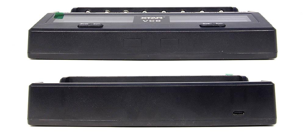 XTAR VC8 alsó felső élei