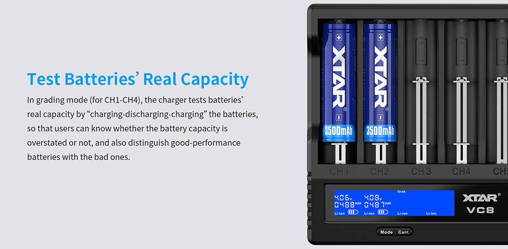 XTAR VC8 capacity banner
