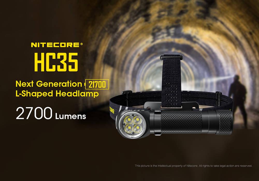 Nitecore HC35 borító