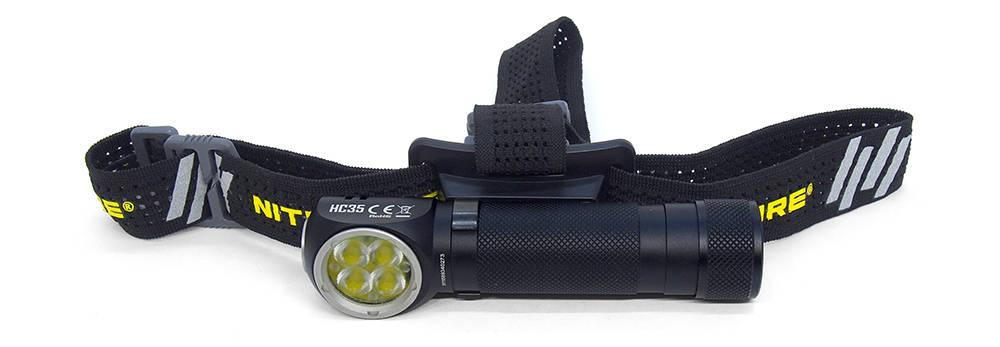 Nitecore HC35 fejpánttal