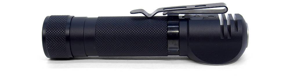 Nitecore HC35 klipsz hátrafelé