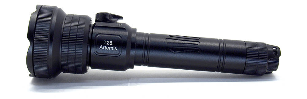 Brinyte T28 Artemis oldalról