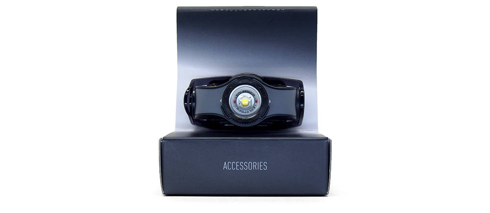 LedLenser MH3 dobozában