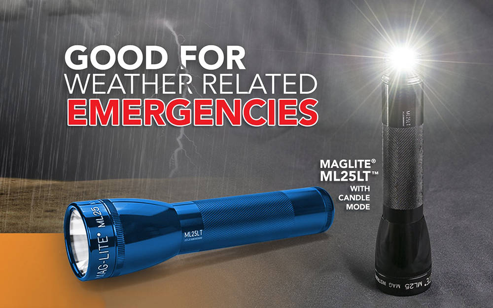 Maglite ML25LT emergencies banner