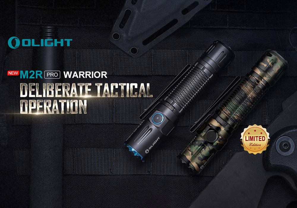 Olight M2R Pro Warrior borító