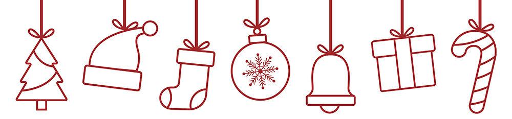Karácsony elemlámpa ötletek dísz banner